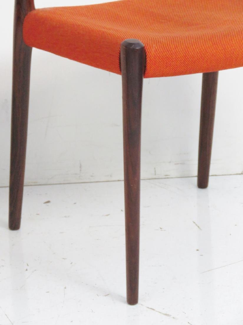 Pair MOLLER ROSEWOOD CHAIRS - 2