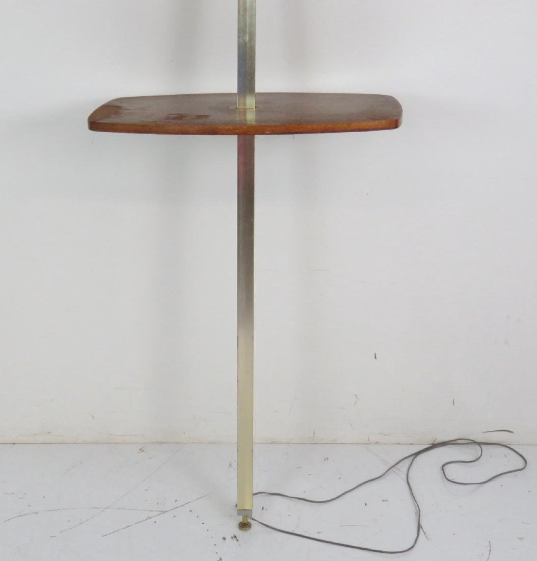 MODERN DESIGN ADJUSTABLE WALNUT FLOOR LAMP by - 2