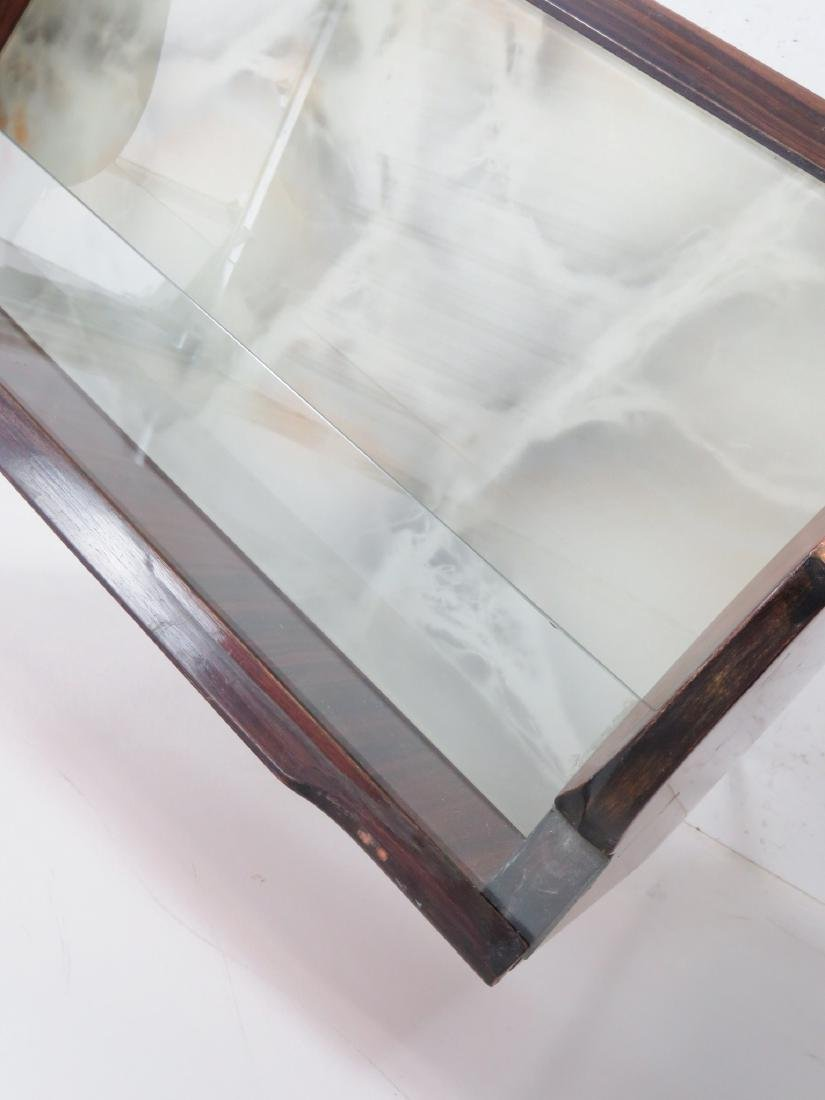 Pair MARCO ZANUSO STYLE END TABLES - 8