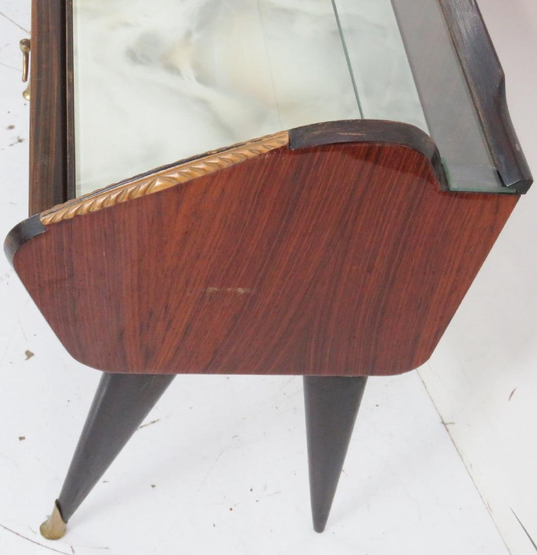 Pair MARCO ZANUSO STYLE END TABLES - 9