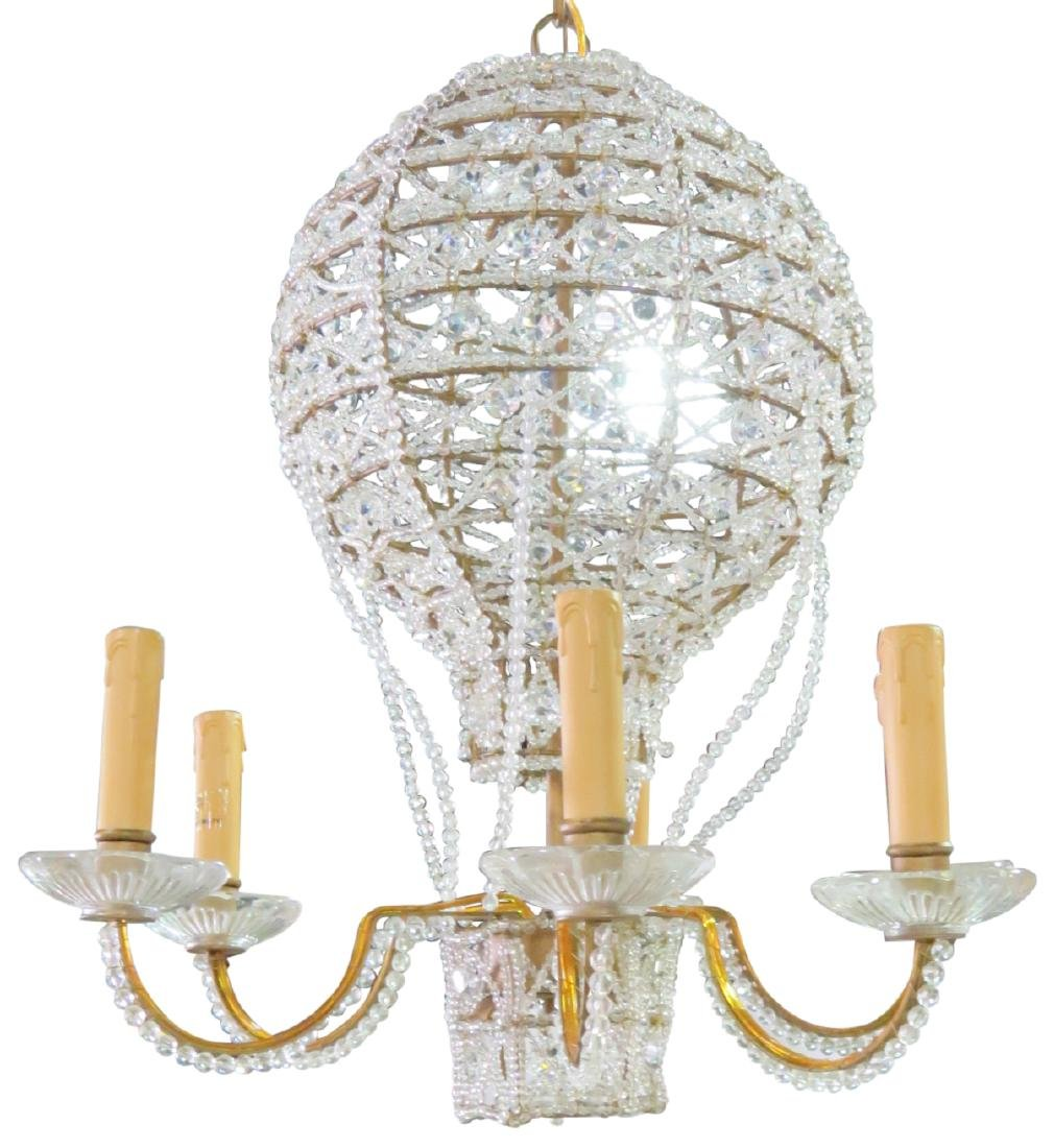 HOT AIR BALLOON FORM CHANDELIER