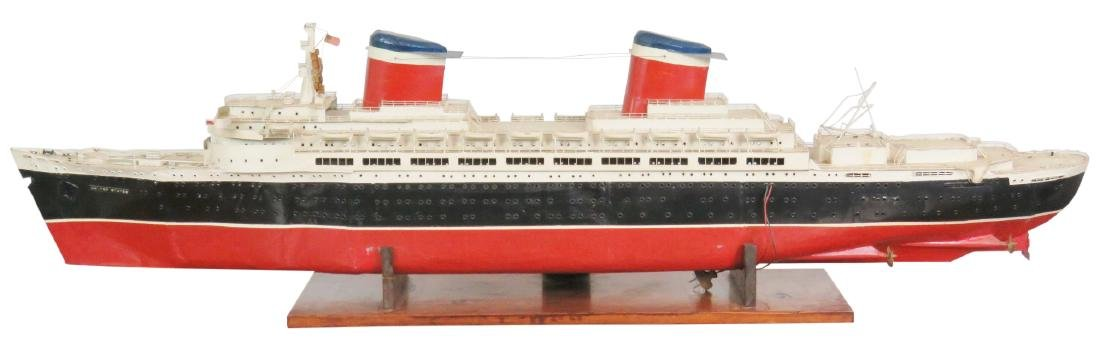 MODEL of THE U.S.S. UNITED STATES