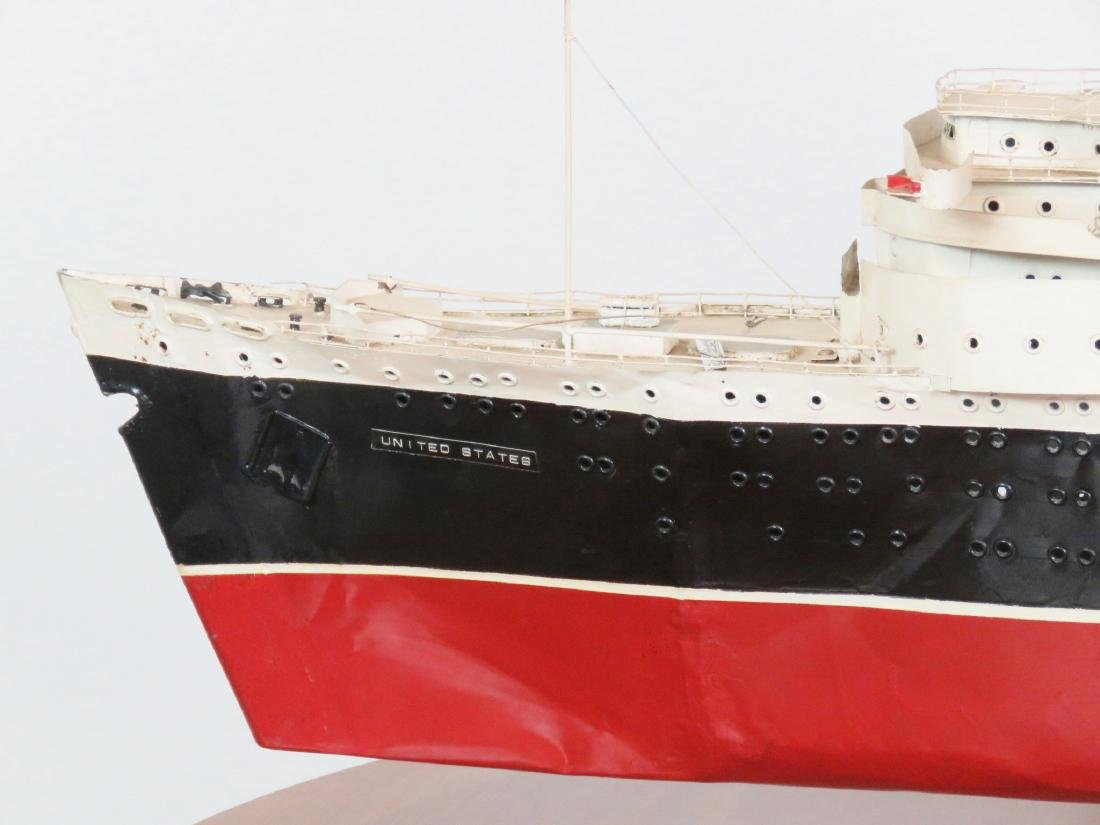 MODEL of THE U.S.S. UNITED STATES - 2