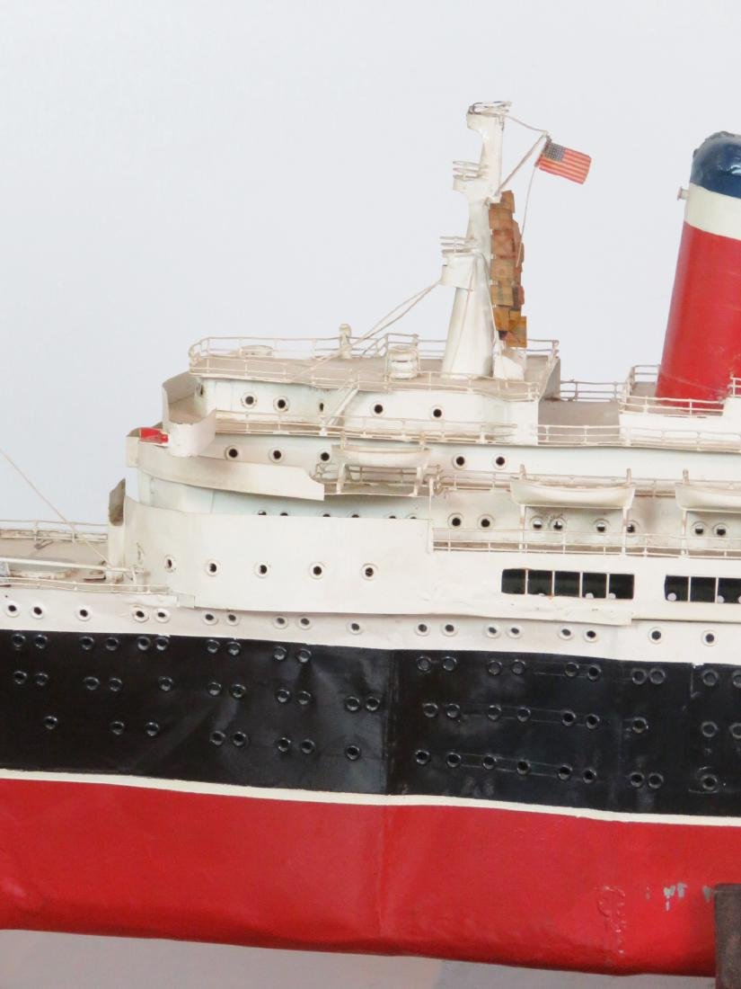 MODEL of THE U.S.S. UNITED STATES - 4