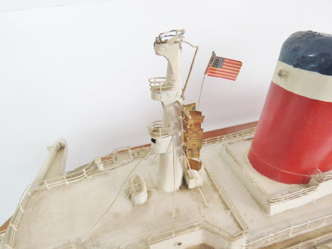 MODEL of THE U.S.S. UNITED STATES - 9