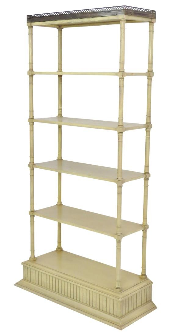 PAINT DECORATED ETAGERE