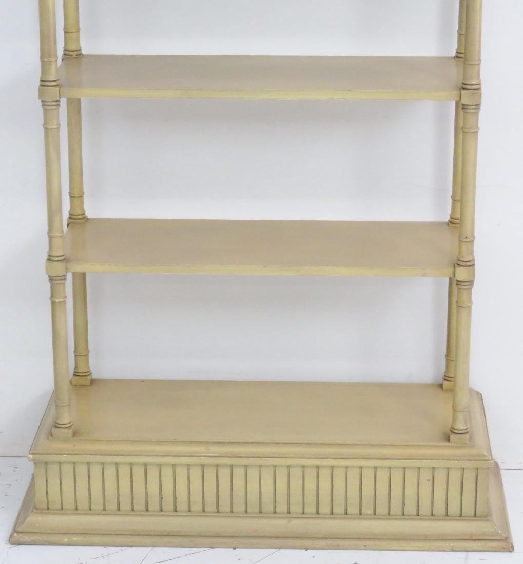 PAINT DECORATED ETAGERE - 2