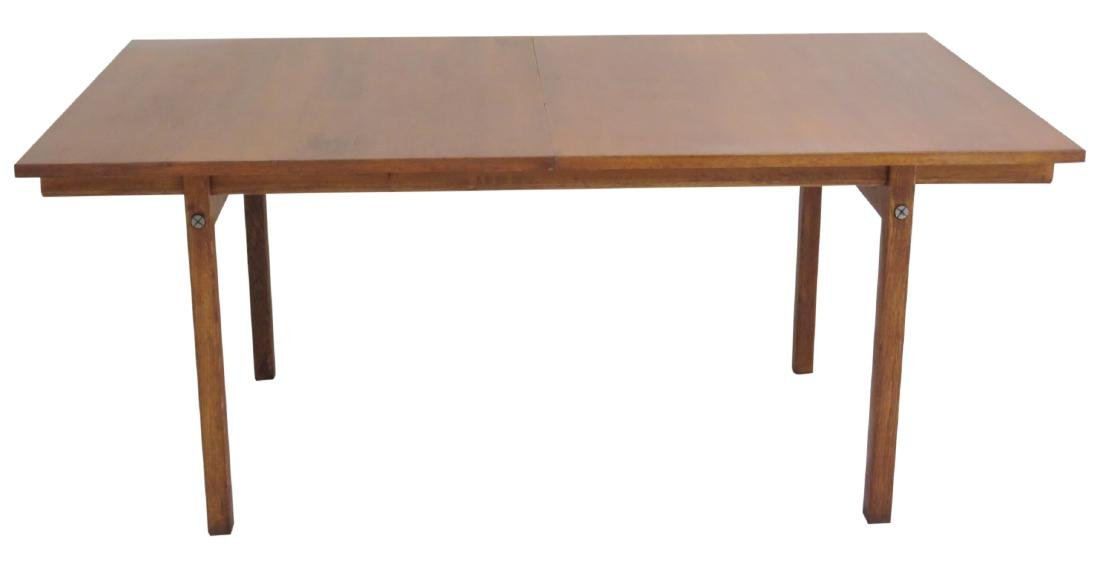 HANS WEGNER for ANDRE TUCK DANISH MODERN DINING TABLE