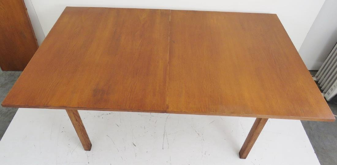 HANS WEGNER for ANDRE TUCK DANISH MODERN DINING TABLE - 3