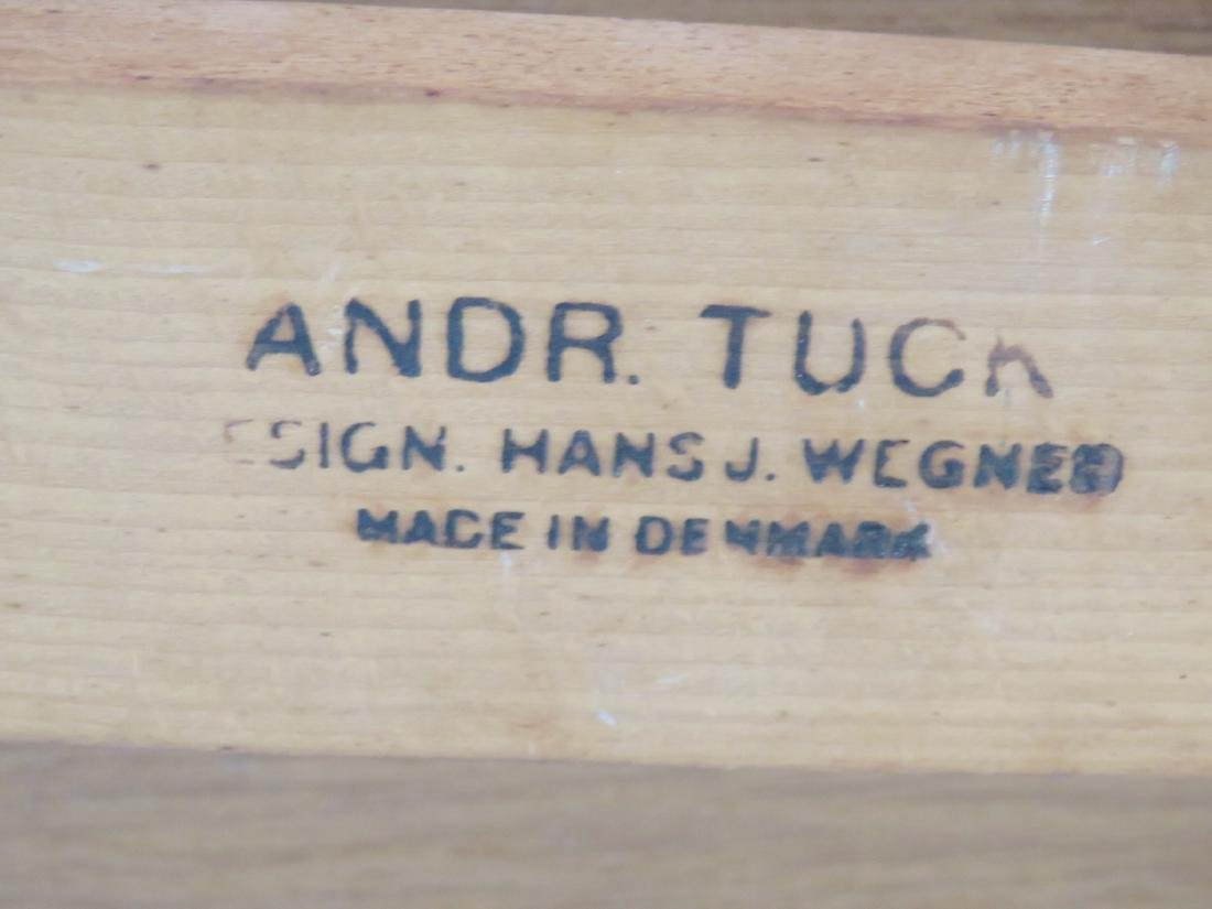 HANS WEGNER for ANDRE TUCK DANISH MODERN DINING TABLE - 7