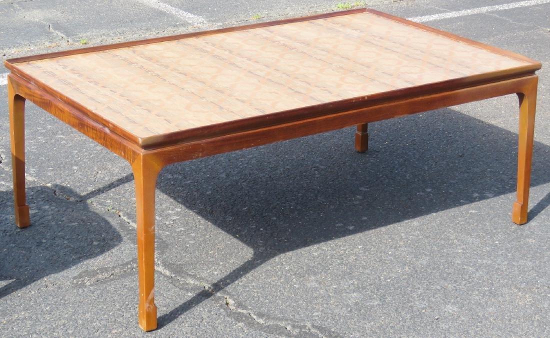 DANISH MODERN INLAID COFFEE TABLE - 2