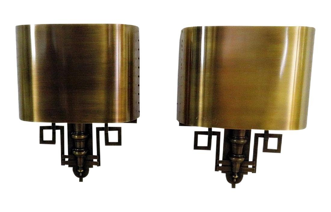 Pair REGENCY STYLE WALL SCONCES