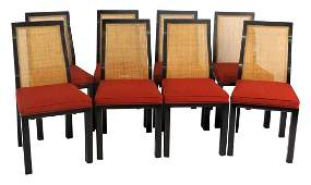 8 HARVEY PROBBER DINING ROOM CHAIRS