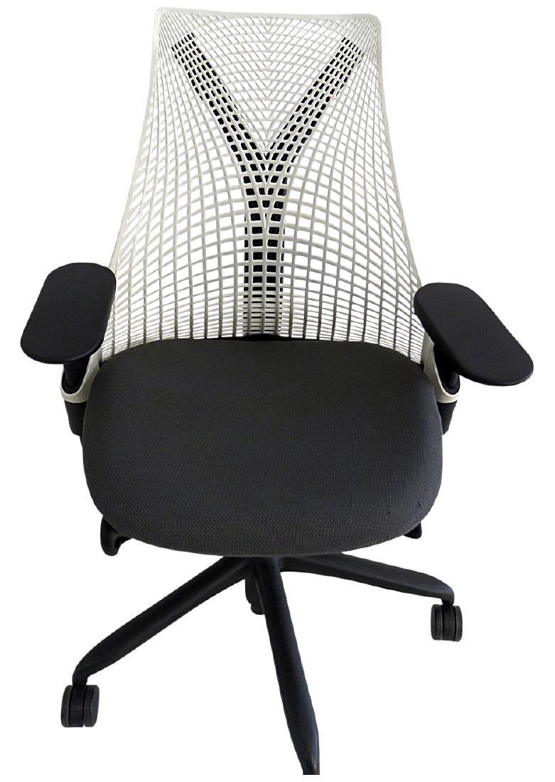 signed herman miller office chair