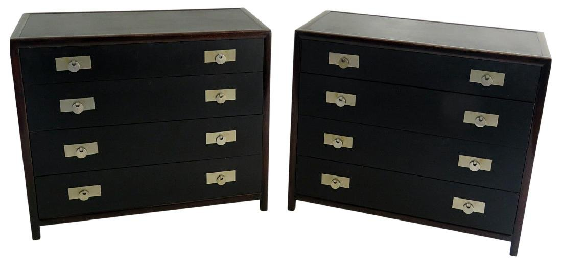 Pair MICHAEL TAYLOR for BAKER BACHELOR CHESTS