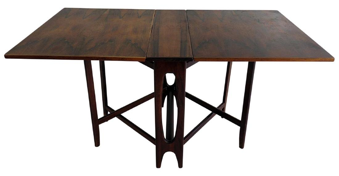 ROSEWOOD DROP LEAF TABLE attr. BRUNO MATHSSON