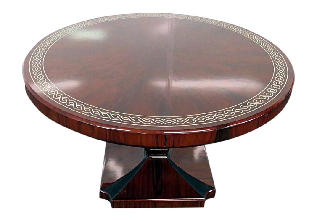 ART DECO INSPIRED ROSEWOOD CENTER TABLE