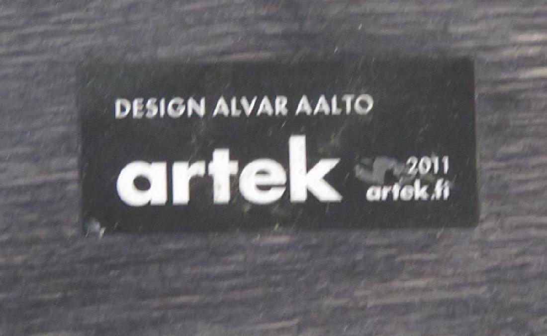 6 ALVAR AALTO ARTEK STOOLS - 3