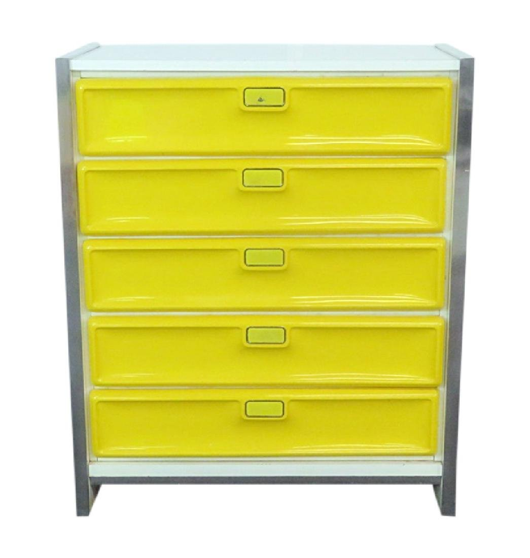 RAYMOND LOEWY STYLE CHEST OF DRAWERS