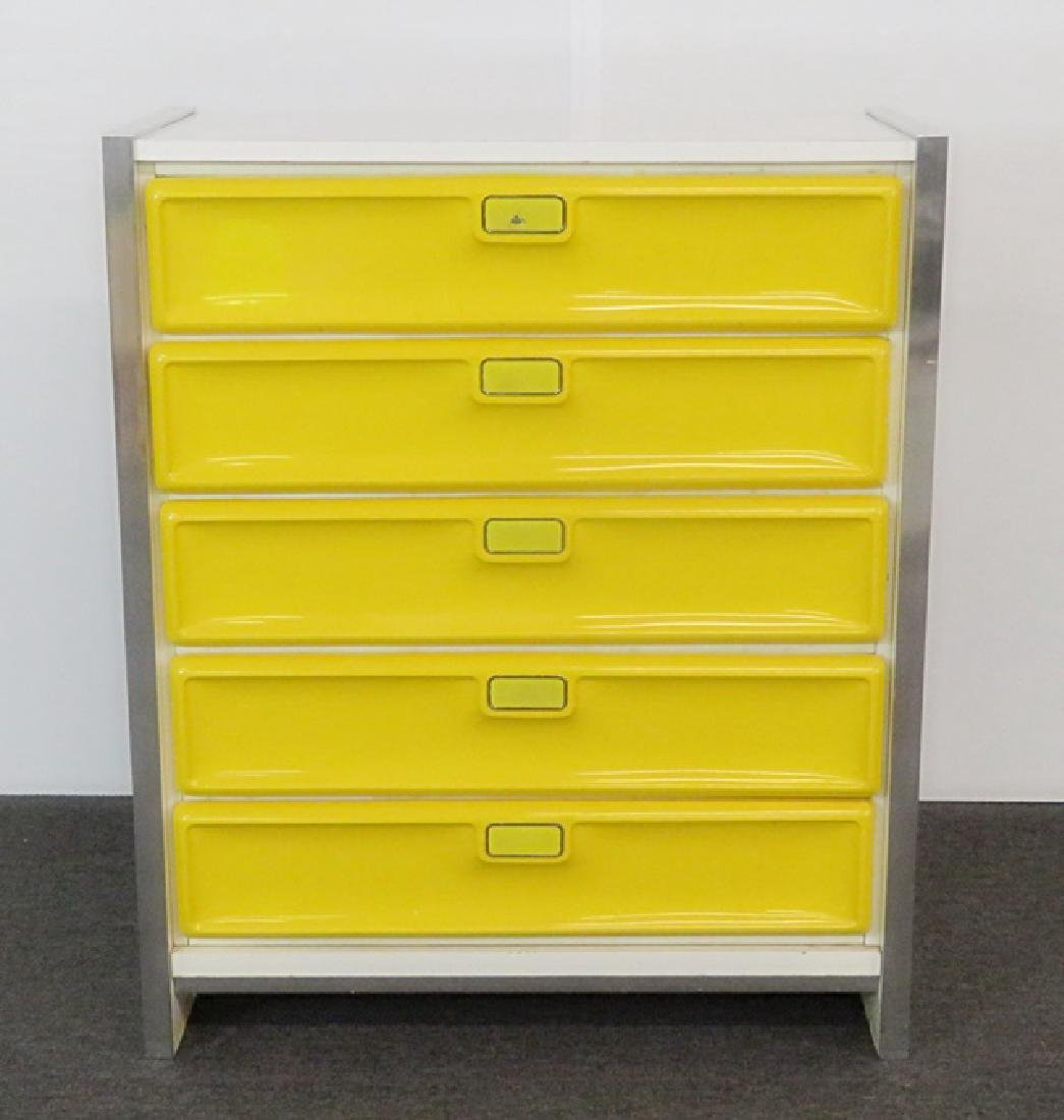 RAYMOND LOEWY STYLE CHEST OF DRAWERS - 2