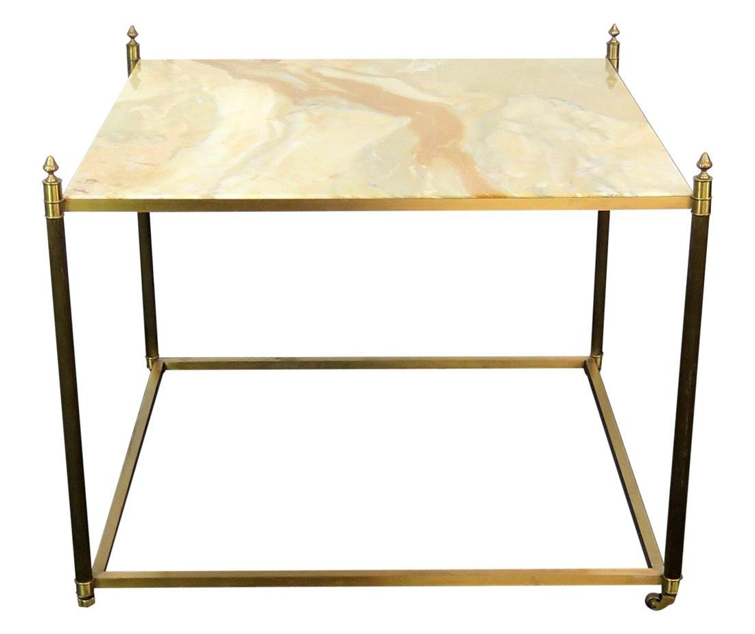 DIRECTOIRE STYLE ONYX TOP TABLE