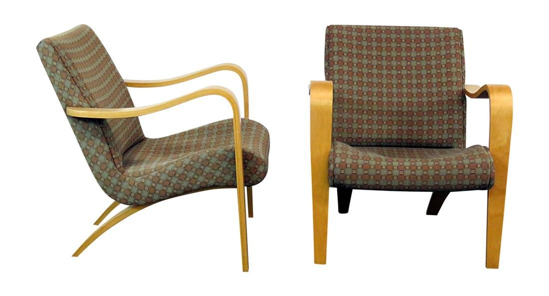 Pair THONET ARM CHAIRS