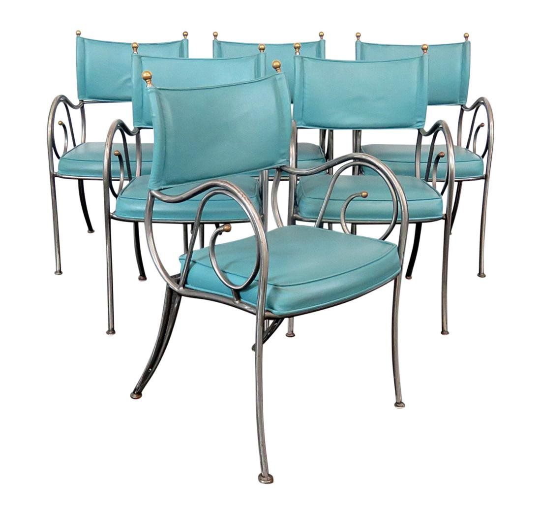 6 DIRECTOIRE CHAIRS BY SHAVER-HOWARD INC.