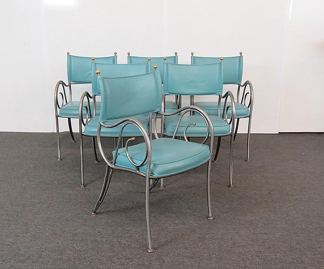 6 DIRECTOIRE CHAIRS BY SHAVER-HOWARD INC. - 2