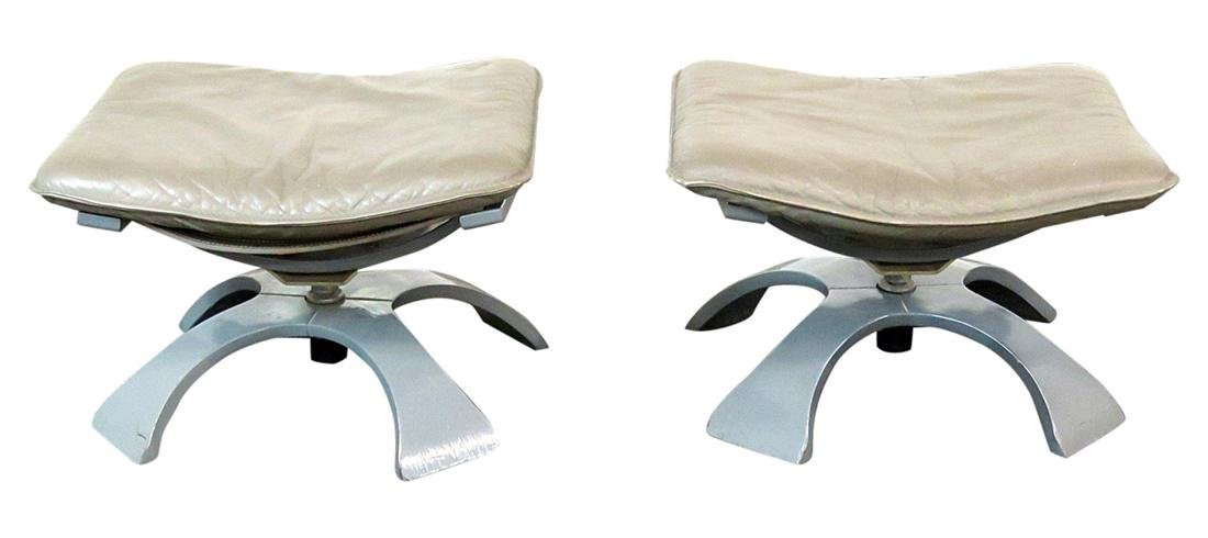 Pair DIRECTOIRE STYLE STOOLS