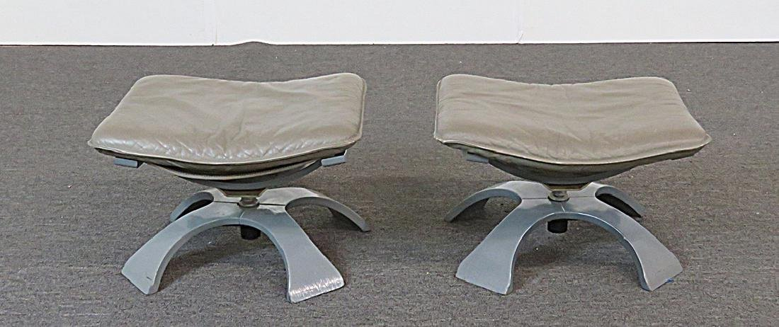 Pair DIRECTOIRE STYLE STOOLS - 2