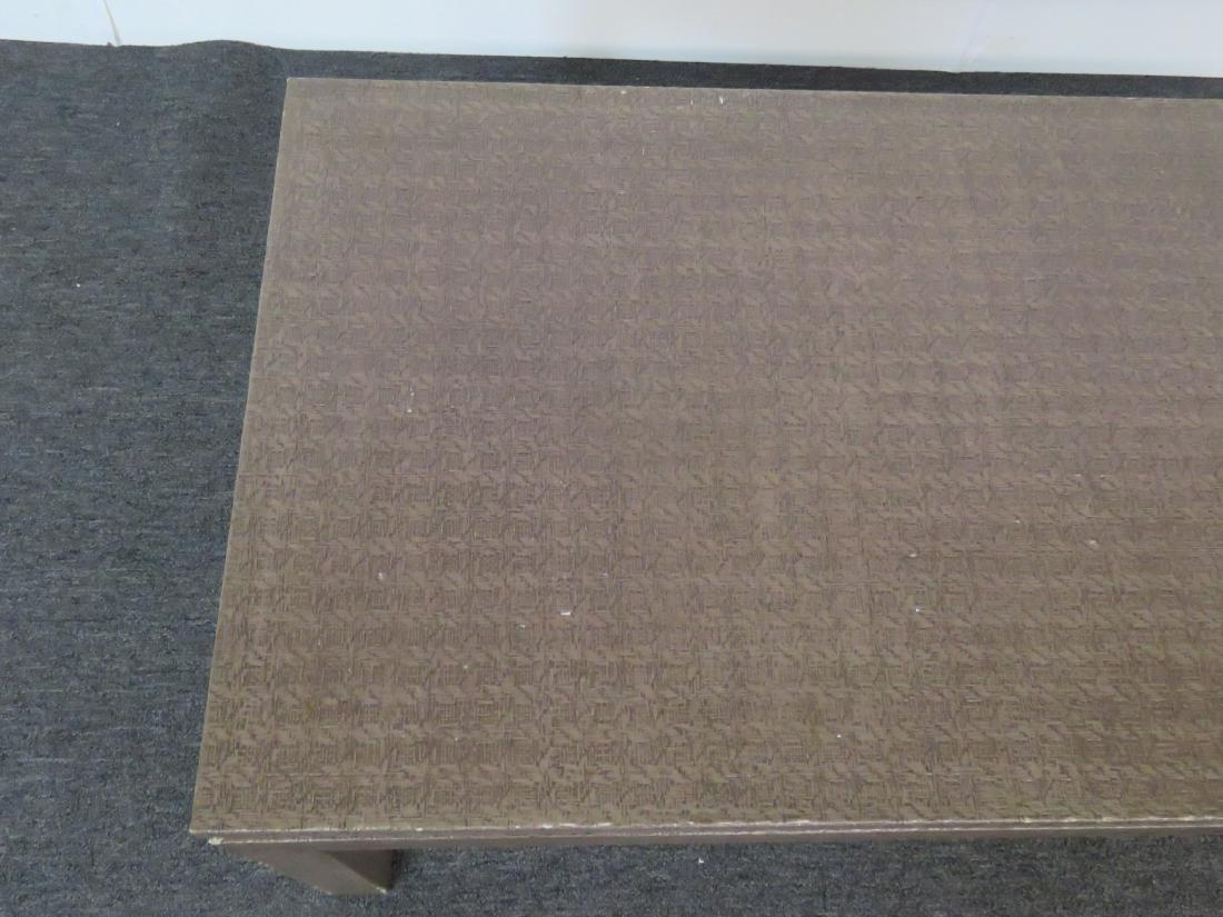 KARL SPRINGER STYLE COFFEE TABLE - 2