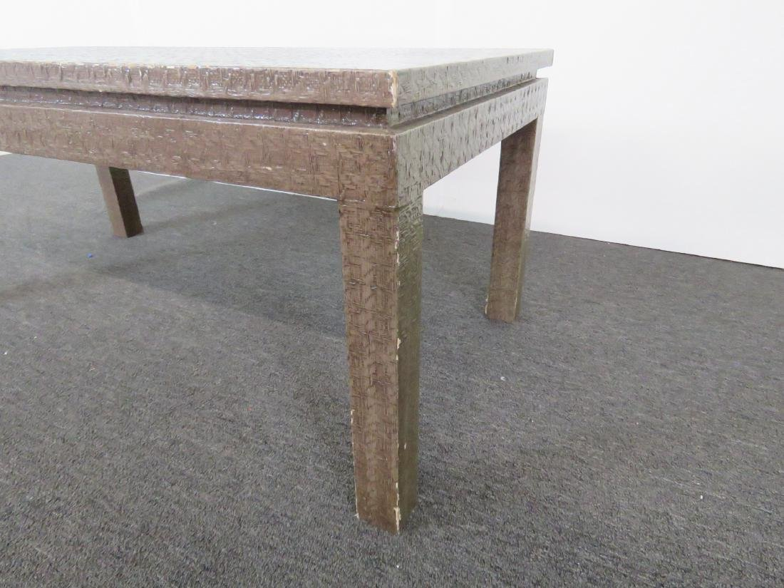 KARL SPRINGER STYLE COFFEE TABLE - 3