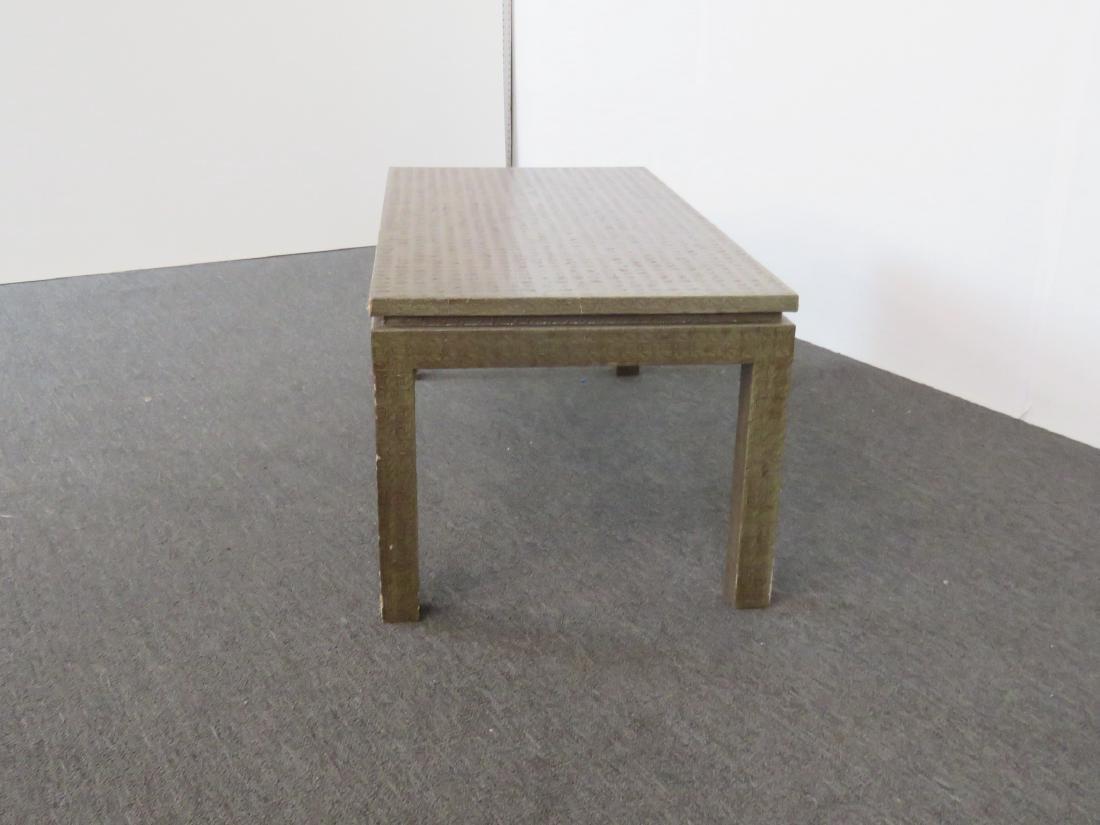 KARL SPRINGER STYLE COFFEE TABLE - 4
