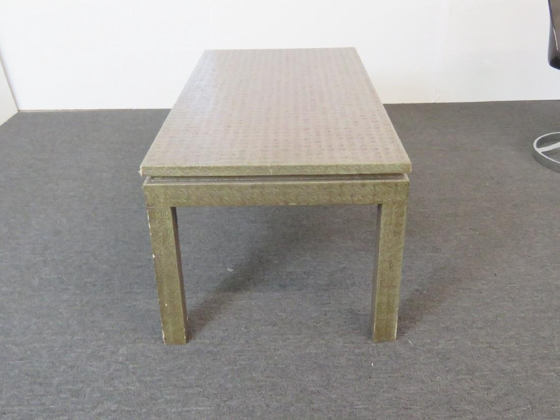 KARL SPRINGER STYLE COFFEE TABLE - 6
