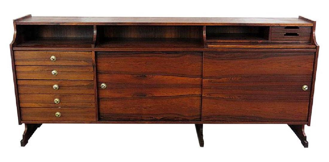 FRATTINI ROSEWOOD SIDEBOARD/CREDENZA