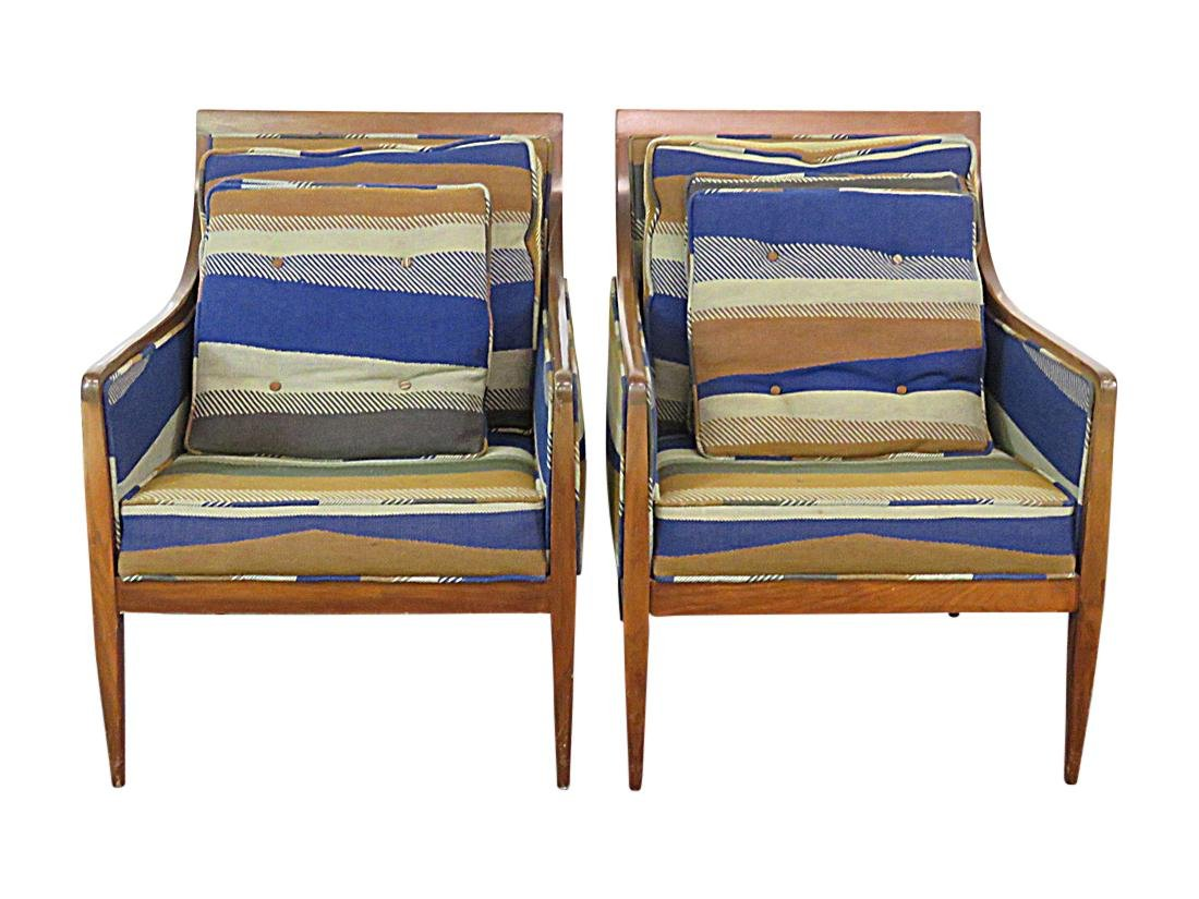 Pair PAUL MCCOBB LOUNGE CHAIRS