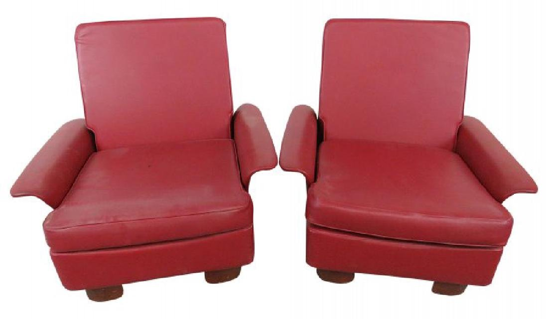 Pair MCM LOUNGE CHAIRS