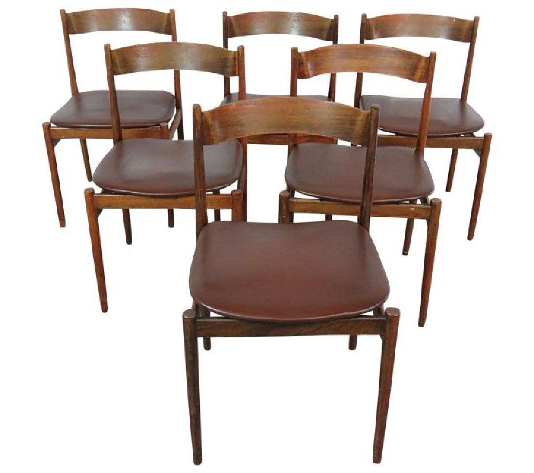 6 FRATTINI DINING CHAIRS