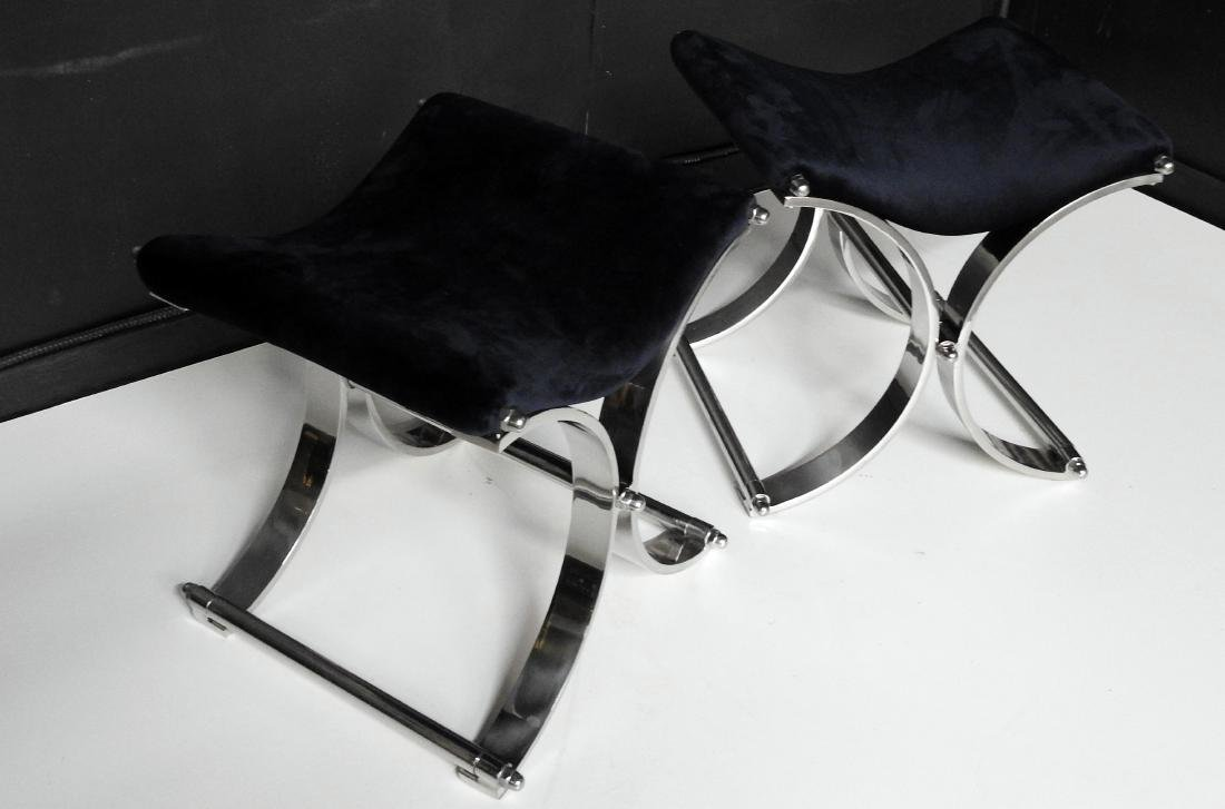 Pair SPRINGER STYLE X BENCHES - 2