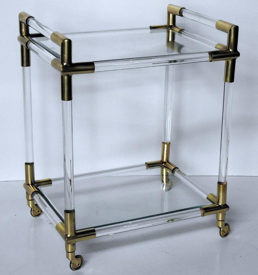 CHARLES HOLLIS JONES STYLE BAR CART