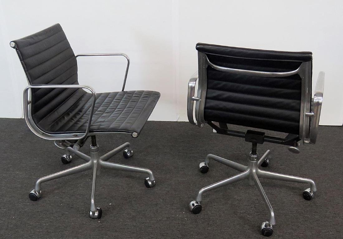 Pair MCM CHROME OFFICE CHAIRS - 3