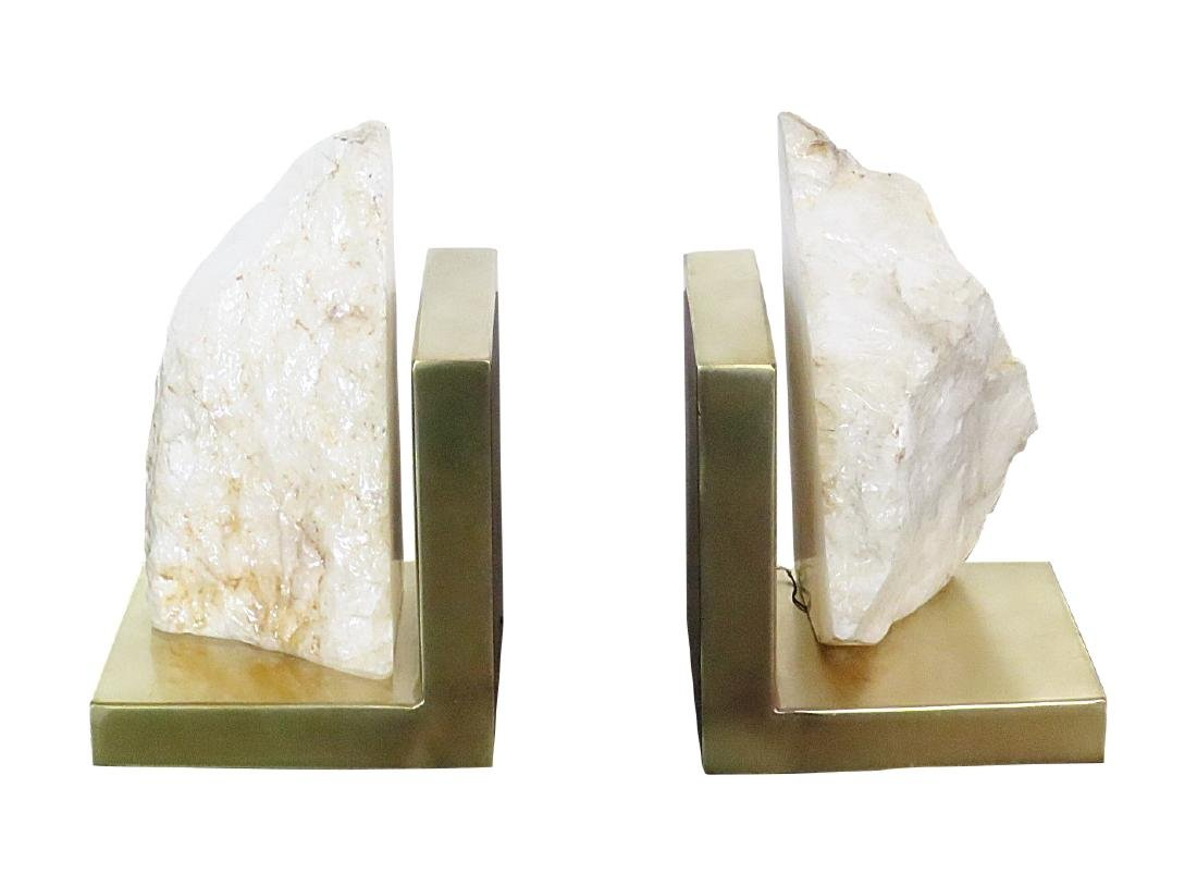 Pair CRYSTALINE BOOKENDS