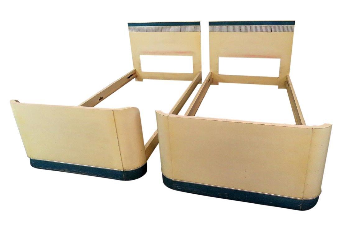 Pair KITTINGER SINGLE BEDS
