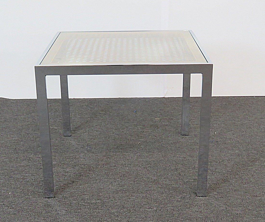 CHROME END TABLE - 2