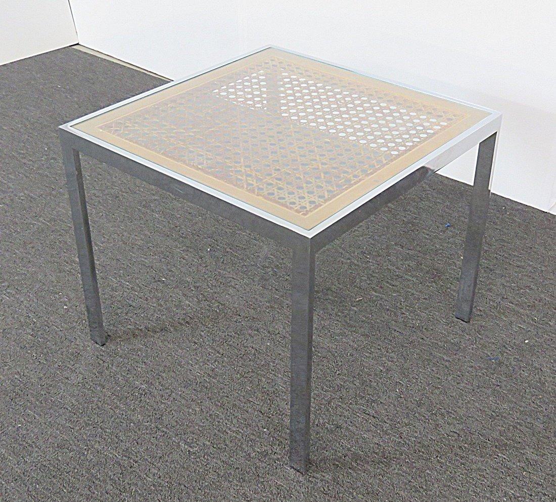 CHROME END TABLE - 3
