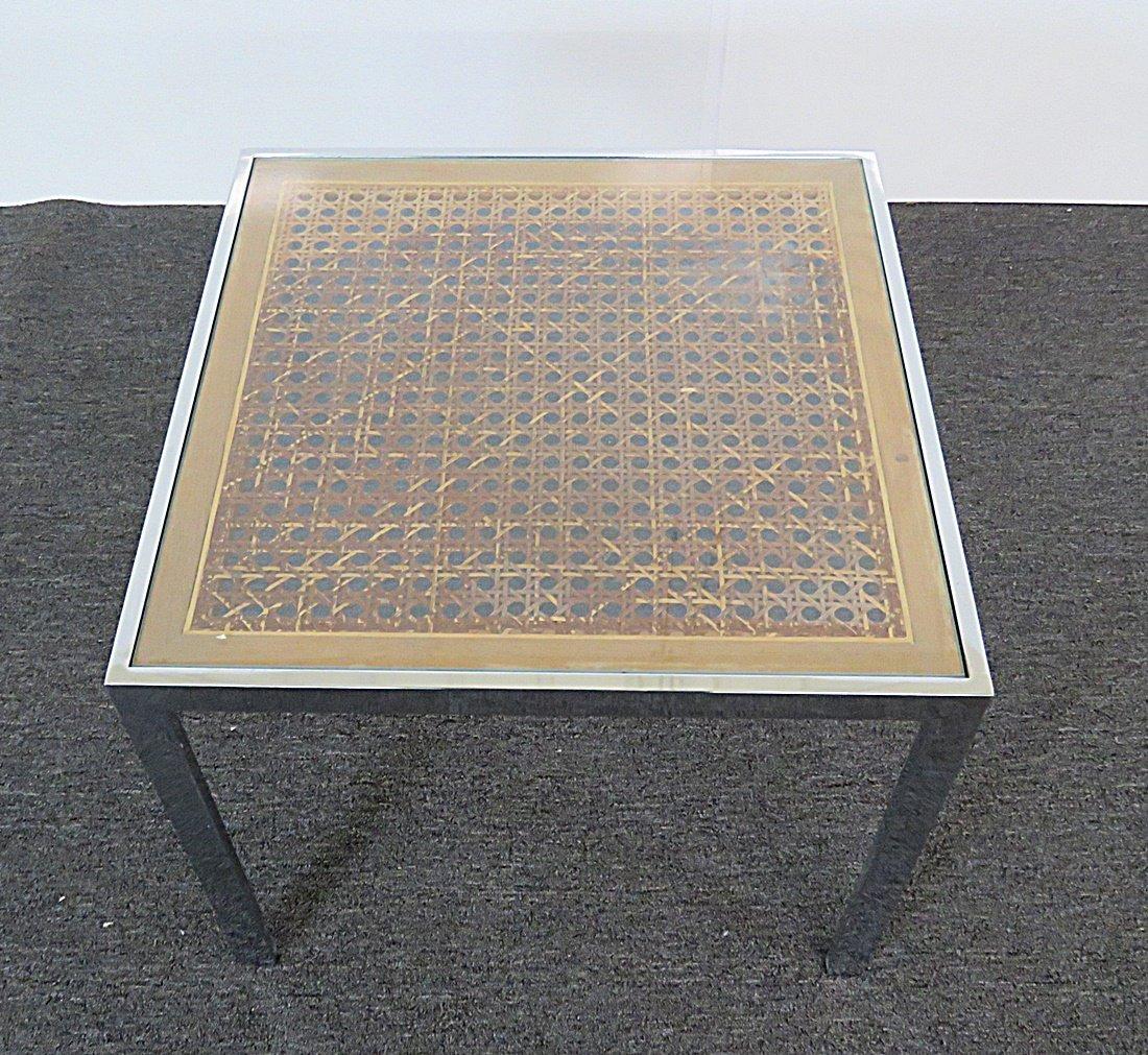 CHROME END TABLE - 4