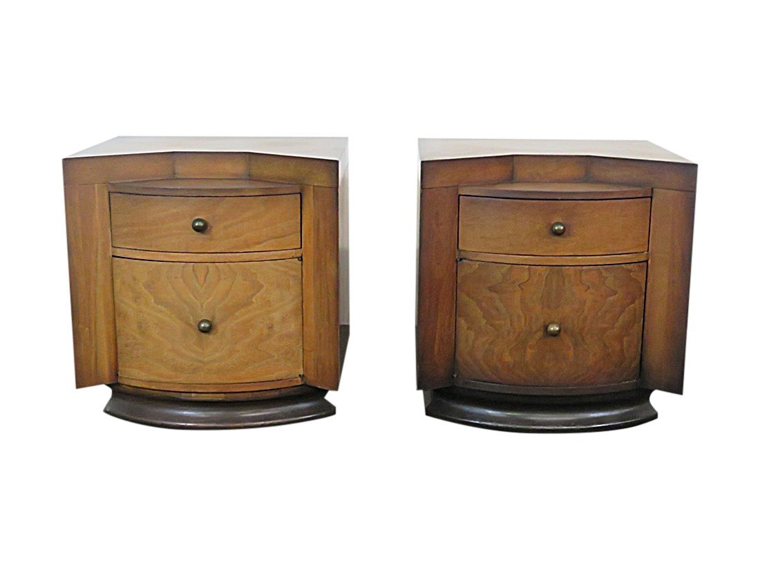 Pair DECO NIGHT STANDS