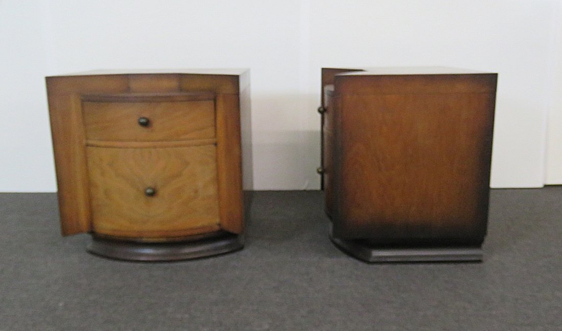 Pair DECO NIGHT STANDS - 3