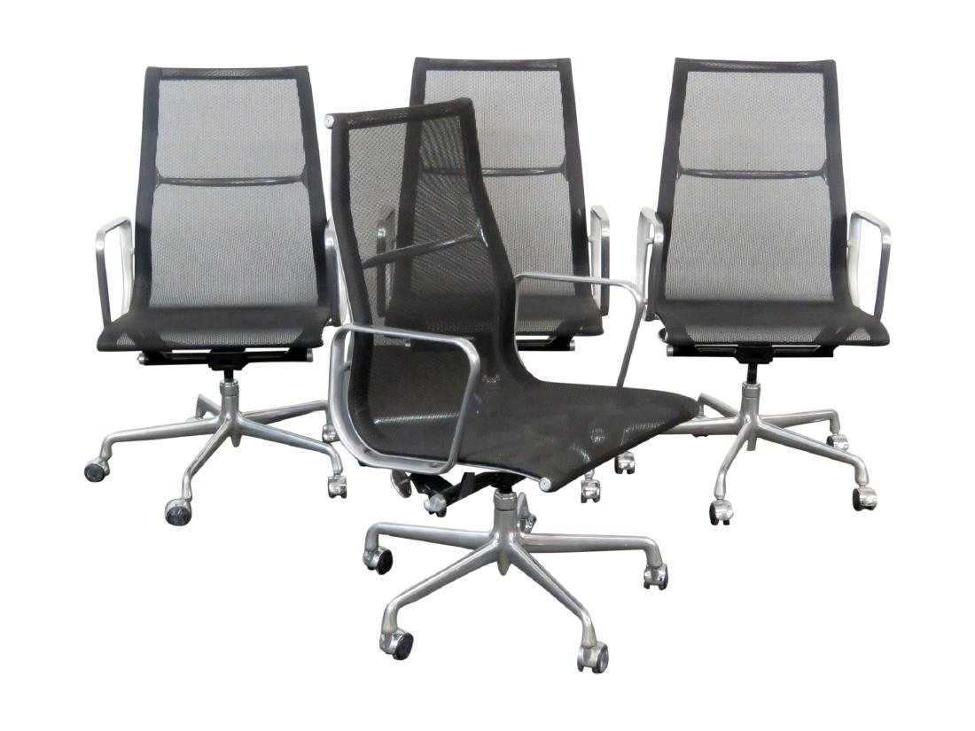 4 HERMAN MILLER OFFICE CHAIRS
