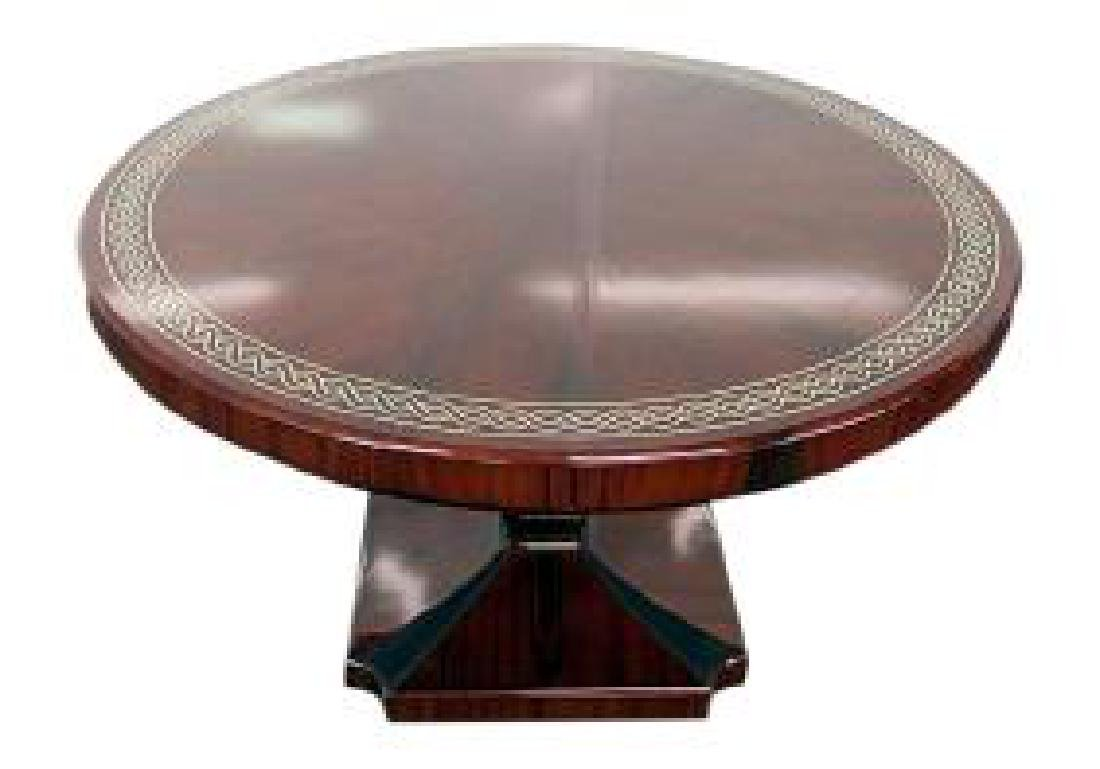 ROSEWOOD ART DECO INSPIRED CENTER TABLE